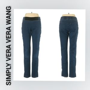 Simply Vera Vera Wang Jeggings Denim Blue Small